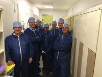 Met mijn (volwassen) studenten op bezoek in een operatiekamer